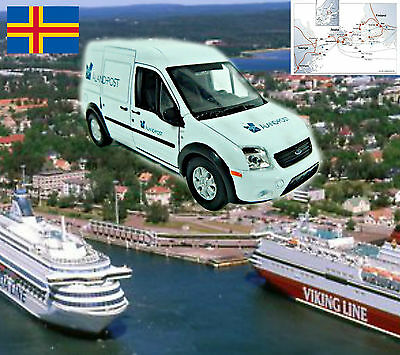 ALAND POST MAIL FORD TRANSIT approximate scale 1/43 - World Post cars