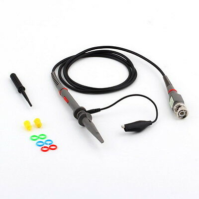 P6100 100MHz Oscilloscope Scope Clip Probe 100MHz For Tektronix HP BY