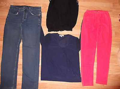 Womens size 12 clothes bundle jeans leggings tops New Look Influence