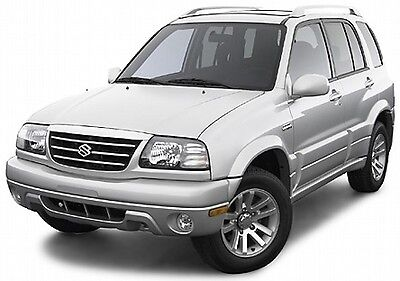 Suzuki Vitara & Grand Vitara 1998-2005 Workshop Service Repair Manual On Cd