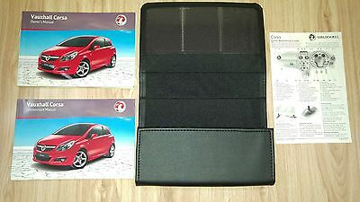 Vauxhall Corsa 2006 - 2011 Owners Manual Pack Handbook
