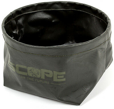 Nash Scope Black Ops Refresh Collapsible Water Bucket Bait Bowl Carp Fishing
