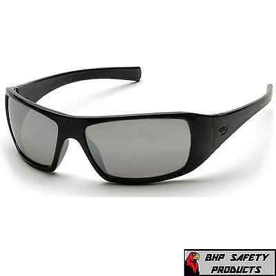 Pyramex Goliath Safety Glasses Sb5670D Silver Mirror Lens Work Sunglasses Z87+