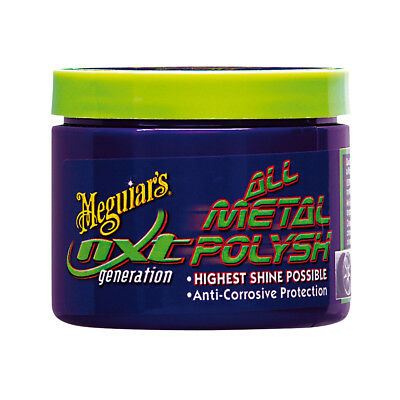MEGUIARS NXT ALL METAL POLYSH POLISH METALLPOLITUR CHROMPOLITUR 142g
