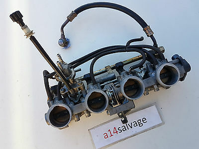 Honda CBR 929 RRY Fireblade Fuel Injection Throttle Bodies with TPS  2000 CBR900