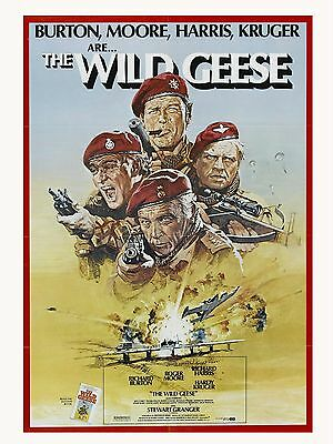 "The Wild Geese 16"" x 12"" Reproduction Movie Poster Photograph"