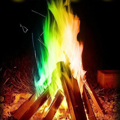 Mystical Fire Colour Changing Flames Campfire Fireplace Fire Pit
