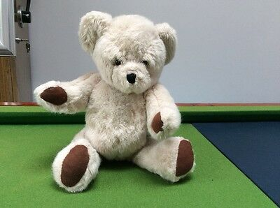 """Vintage Deans Childsplay Teddy With Rattle/Bells in Tummy - 12"""""""
