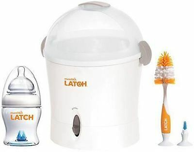 Munchkin Latch Rapid Electric Baby Bottle Steriliser Complete Starter Set