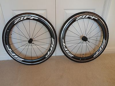 Zipp 60 Carbon Clincher Wheels with Gatorskins tyres - 10/11 Speed Shimano/SRAM