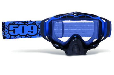 509 Sinister X5 Goggles Blue Snowmobile Snow Snowmobiling Goggle 2016