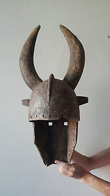 antique african mask malli