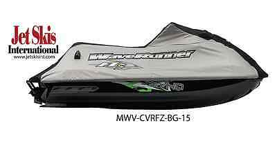 Yamaha New OEM WaveRunner Cover, Black/Gray, FZS, MWV-CVRFZ-BG-15