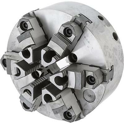 """Grizzly G9858 - 10"""" 6-Jaw Precision Scroll Chuck"""