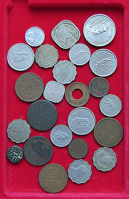 COLLECTION LOT INDIA 24 pc 106g  #xxh 049