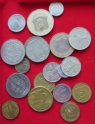 COLLECTION LOT  MIDDLE EAST 19pc 77g  #xxi 135