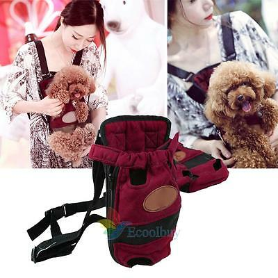 Dog Cat Pet Puppy Carrier Backpack Front Tote Carrier Net Bag Purse Sling New A