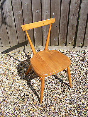 Old Vintage Retro Wooden Ercol School Stacking Chair Design No.884892 Model 392?