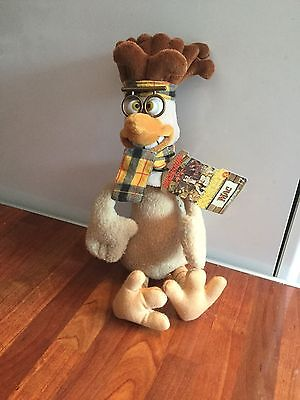 Chicken Run Mac The Brains Soft Toy