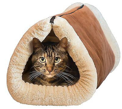 Kitty Shack 2 In 1 Self Heating Pet Tunnel & Mat Bed Cat Dog Portable Cosy Warm