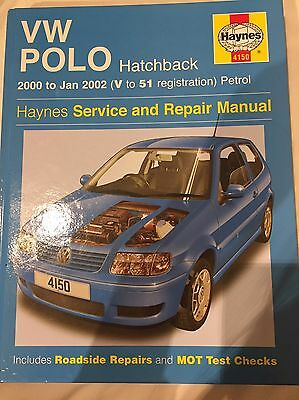 VW Polo Hatchback 2000-2002 Service And Repair Manual