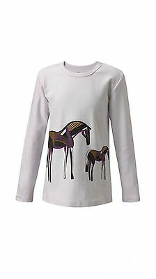 Kerrits Kids Painted Pony Tee Shirt-Ivory-L