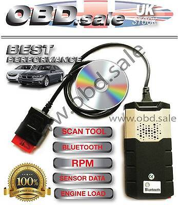 Bluetooth R2 Car Truck Diagnostic Obd Scanner Software Best Tool Abs Airbags