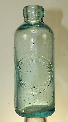 Thomasville Ga Persse & Lindner Hutchinson Soda Bottle
