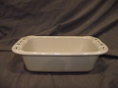 Longaberger Woven Traditions Classic Blue Mini Loaf Pan - USA