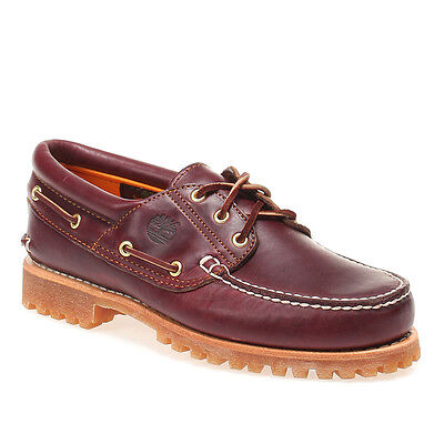 0fa3ae52f147 Timberland 3 Eye Boat Shoes 11.5 - Model 50009 - Mens Leather Classic Boat  Shoes