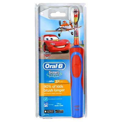 Oral-B Stages Power Kids Electric Toothbrush, Disney Cars and Planes ORIGINAL