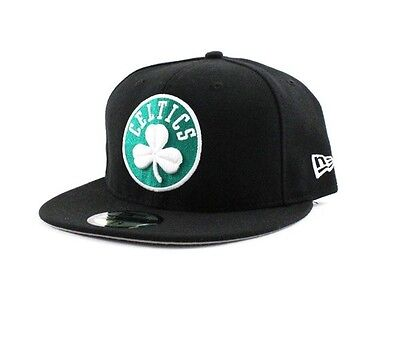 Boston Celtics Team Basic 2 NBA 59Fifty Fitted Team Cap By New Era Size 7 1/8