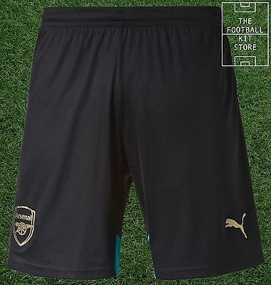 Arsenal Third Shorts  - Official Puma Boys Football Shorts - All Sizes
