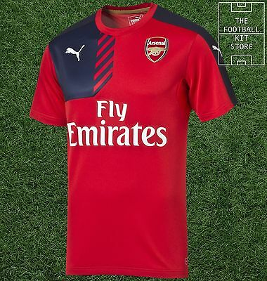 Arsenal Training Jersey - Official Puma Boys Football Training Top - All Sizes