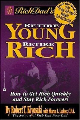 Rich Dad's Retire Young Retire Rich by Robert Kiyosaki FREE SHIPPING series poor
