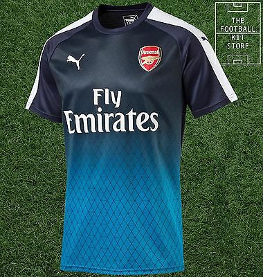Arsenal Training Top - Official Puma Boys Football Training Wear - All Sizes
