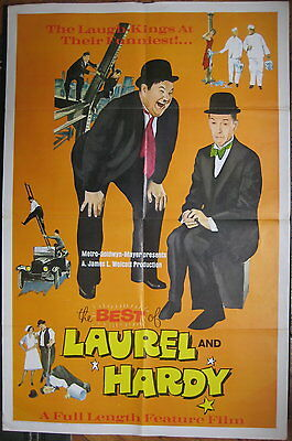 THE BEST OF LAUREL AND HARDY-American Movie Poster--Large SIZE-G