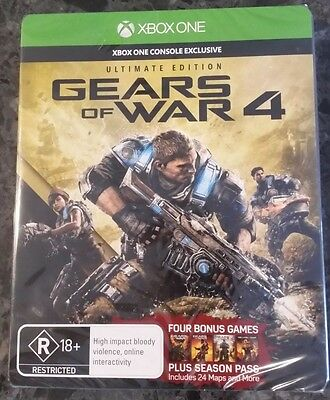 Gears of War 4 -- Ultimate Edition Plus Season PASS (Microsoft Xbox One)