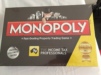 Brand New -MONOPOLY- The Income Tax Professionals Edition Board Game