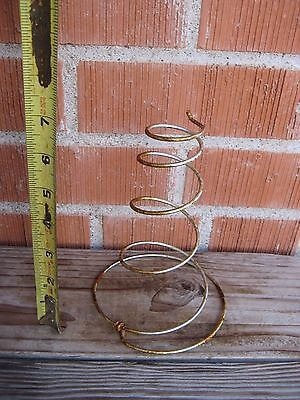 Vintage Rustic Metal Bed Springs Crafts Garden Art Bobble Head Project Set of 10