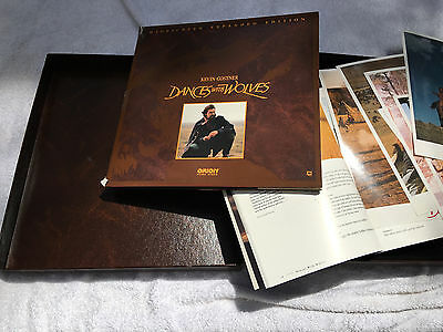 Dances With Wolves Limited Collector's Edition Laser Discs
