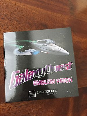 Lootcrate Exclusive GalaxyQuest Emblem Patch