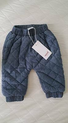 Seed Baby Boy Girl Cute Pants size 00 Brand New