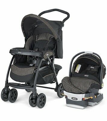 Chicco Cortina Travel System Stroller Car Seat Combo Pram Buggy Baby Pushchair