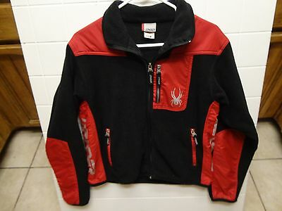Spyder Youth Zip Up Winter Jacket - Size 16