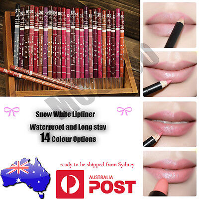New 14 PCS Pack of Professional Lipliner Waterproof Lip Liner Pencil 15CM SN