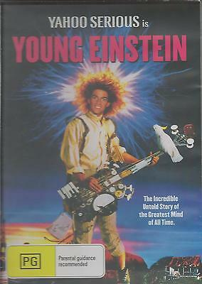 Yahoo Serious Is Young Einstein - Great Family Movie -  New  All Region Dvd