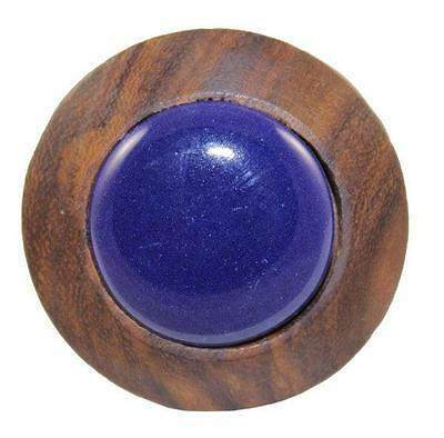 1 Pcs Indian Handmade Solid Wooden Ceramic Door Knobs for Kitchen, Kids Dresser