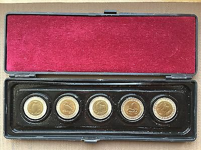 1992 10 ROUBLES RED BOOK SET of SOVIET USSR COINS RARE OLD VINTAGE RUSSIAN