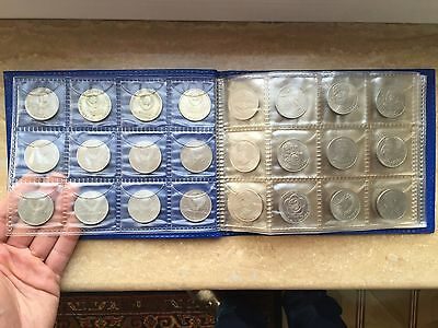 Ussr Rubles Full Set 64 Pcs All In Excellent Condition In Albom